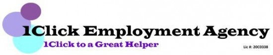 Maid agency: 1Click Employment Agency