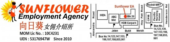 Maid agency: Sunflower Employment Agency