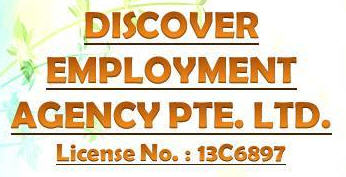 Maid agency: DISCOVER Employment Agency Pte Ltd