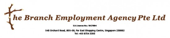Maid agency: The Branch Employment Agency Pte. Ltd.