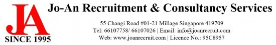 Maid agency: Jo-An Recruitment & Consultancy Services