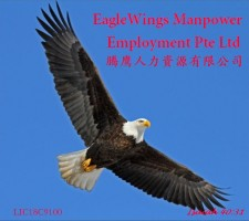 Maid agency: Eaglewings Manpower Employment Pte. Ltd.