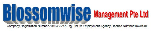 Maid agency: Blossomwise Management Pte Ltd