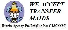 Maid Agency: Rinzin Agency Pte Ltd