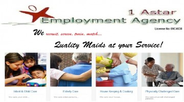 Maid agency: 1A Star Employment Agency